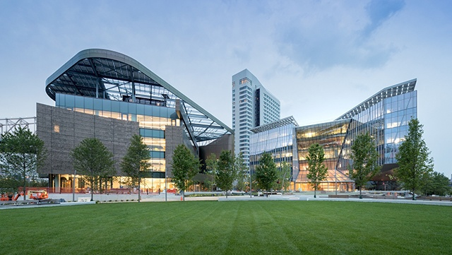 Cornell Tech Bloomburg building is a Net Zero building