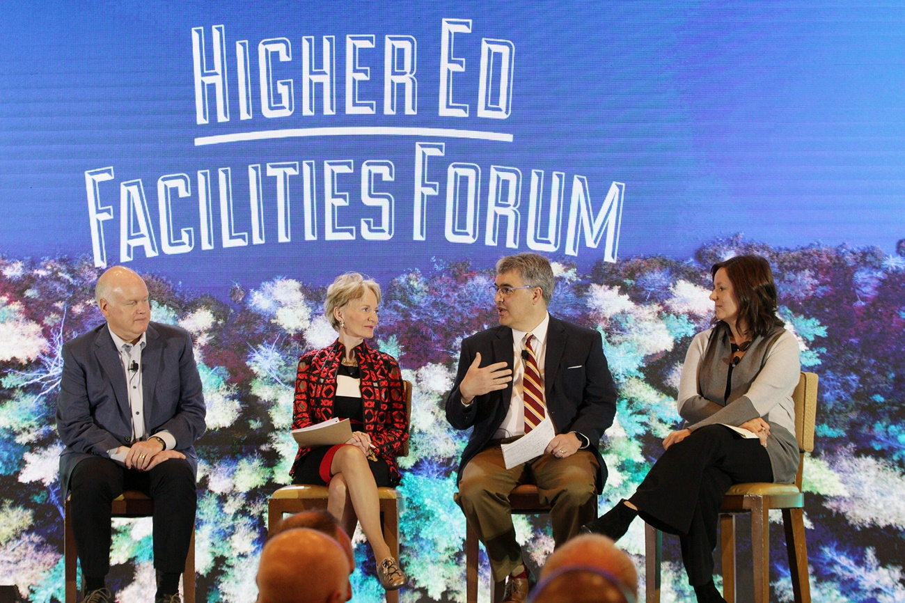 Higher Ed Facilities Forum Panel