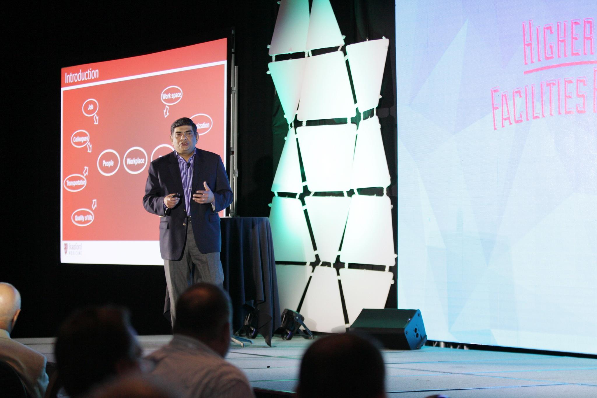 Niraj Dangoria - Stanford University School Of Medicine - speaking at Higher Ed Facilities Forum