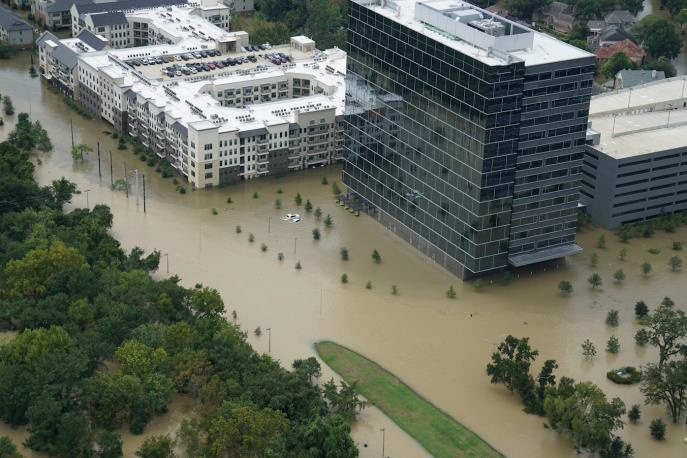The University of Houston suffered extensive damage from Tropical Storm Allison
