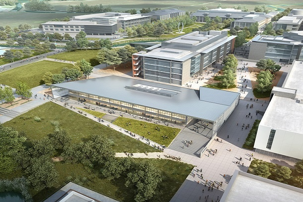 Inside the UC Merced P3 Expansion
