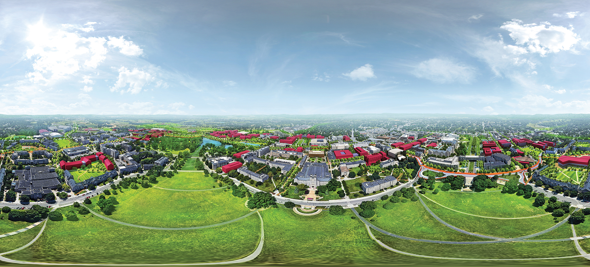 HEFF - Virginia Tech 360-degrees rendering